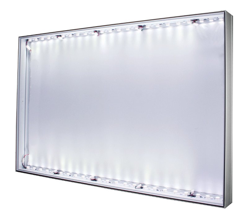 120 Led Lit 1 Sided 120x48mm Wall Ceiling Or Floor