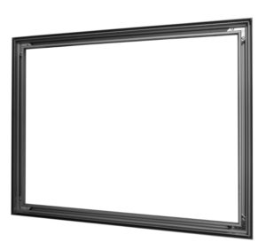 #15: Non-lit 1-sided 15x23mm Wall Mount aluminum SEG Frame