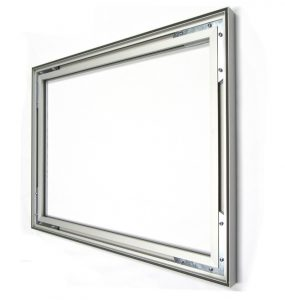 #27: Non-lit 1-sided 27x40mm Wall or Ceiling Mount aluminum SEG Frame