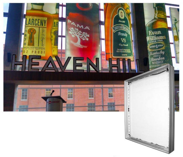 led-frame-143-mm-with-image-on-wall