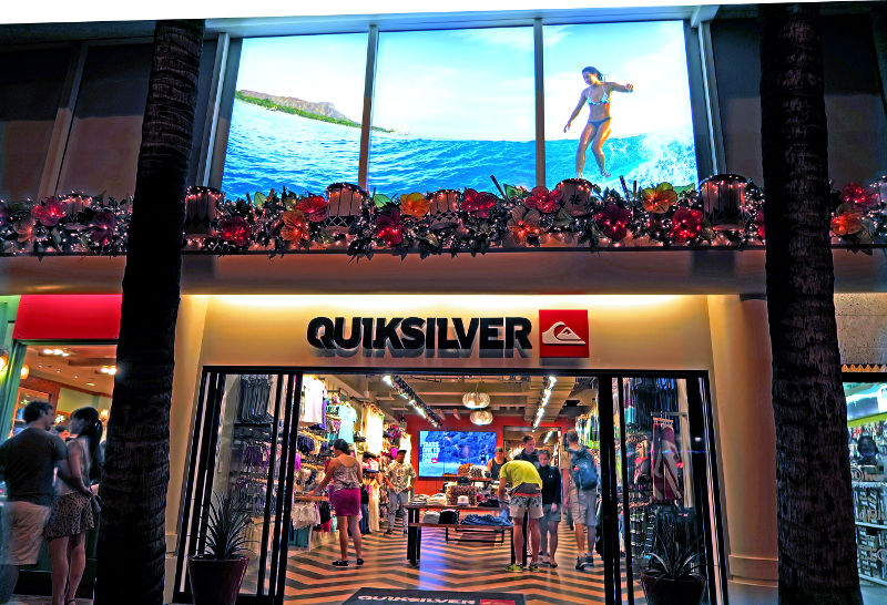QuikSilver Front Store 90 mm LED Frame