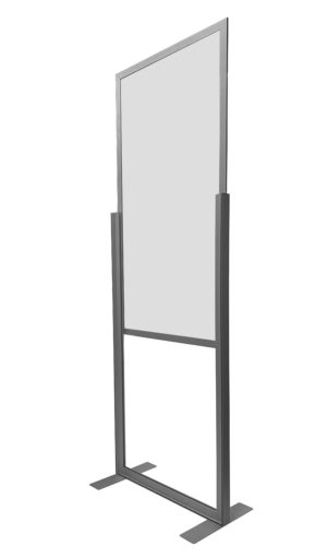 26″ x 78″ Adjustable Floor Stand Shield